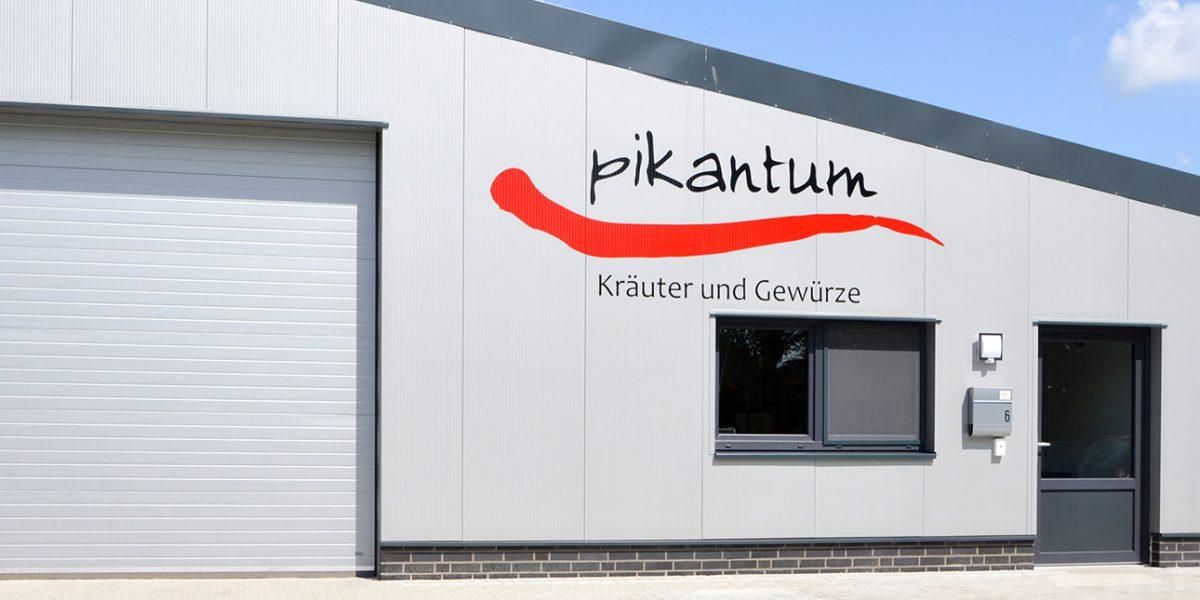 Ro-Ge Bau baute das Gewerbegebäude für Pikantum in Gersten