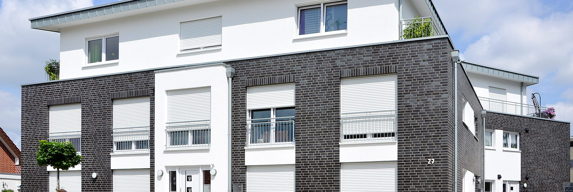 Ro-Ge Bau errichtete dieses Mehrfamilienhaus im Zeit- und Kostenplan